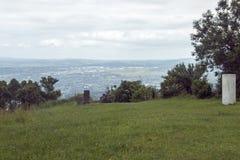 Viewpoint Overlooking a Hazey Pietermaritzburg City Skyline Royalty Free Stock Photos