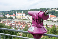 Viewpoint in Passau Stock Images
