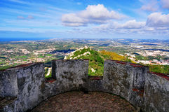 Viewpoint of Pena palace Royalty Free Stock Image