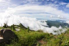 Viewpoint at Phu Tub Berk Stock Photo