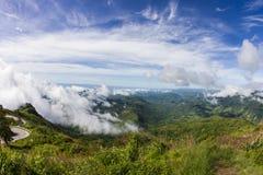 Viewpoint at Phu Tub Berk Royalty Free Stock Image