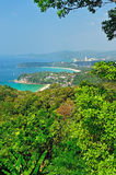 Viewpoint phuket Royalty Free Stock Photography