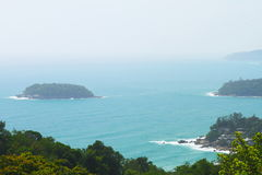 Viewpoint of Phuket Royalty Free Stock Images