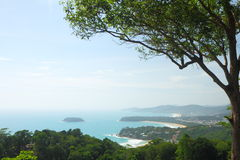 Viewpoint of Phuket Royalty Free Stock Photos