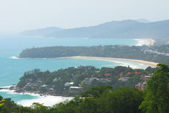 Viewpoint of Phuket Royalty Free Stock Photography