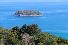 Viewpoint of Phuket Thailand. Viewpoint of Kata Noi Phuket Royalty Free Stock Images