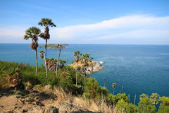 Viewpoint of Phuket Thailand. Prom Tap Cape viewpoint of Phuket Stock Photography