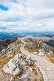 Viewpoint platform on Lovcen mountain, Montenegro Stock Photos