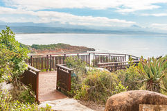 Viewpoint in Plettenberg Bay Stock Photography