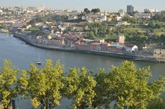 Viewpoint  of Porto Royalty Free Stock Images