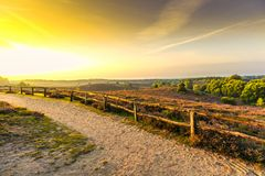 Sunrise at Posbank Stock Image
