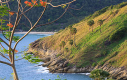 Viewpoint Promthep Cape Phuket Thailand stock images