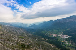 Viewpoint of the Puerto de las Palomas Stock Images