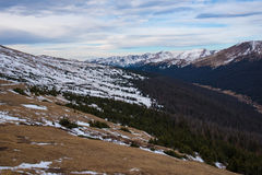 Viewpoint at Rocky Mountain NP Royalty Free Stock Image