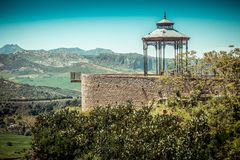 Viewpoint in Ronda Royalty Free Stock Images