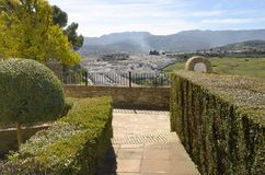 Viewpoint in Ronda Stock Photos