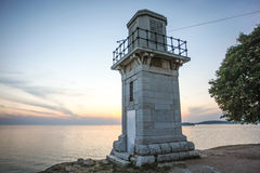 Viewpoint in Rovinj Royalty Free Stock Photography
