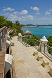 Viewpoint at samui beach Stock Photography