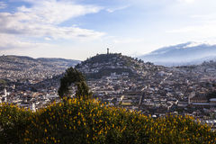 Viewpoint in San Juan, Quito. Stock Photography