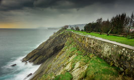 Viewpoint of San Pedro, Llanes, Asturias Royalty Free Stock Photos