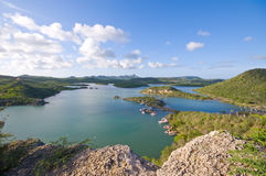 Viewpoint santa martha bay. Beautiful viewpoint at santa martha bay curacao Royalty Free Stock Photos