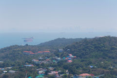 Viewpoint of scenic Island in Ko Si Chang. Stock Photos