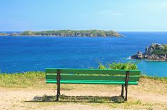 Viewpoint at the sea Royalty Free Stock Photography