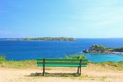 Viewpoint at the sea Stock Image