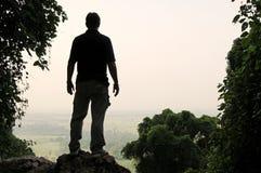 Viewpoint silhouette Stock Photos