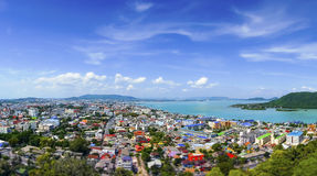 Viewpoint Songkhla, Thailand. Songkhla is one of the southern provinces (changwat) of Thailand. Neighboring provinces are (from east clockwise) Satun Royalty Free Stock Images