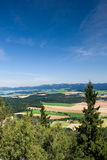 Viewpoint - summer landscape Stock Photo