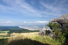 Viewpoint - summer landscape Stock Photos