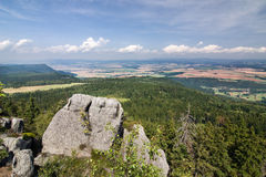 Viewpoint - summer landscape Stock Images