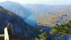 Viewpoint of Tara Mountain Royalty Free Stock Photography