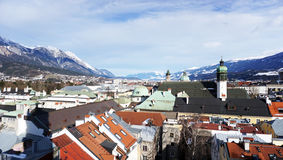 Viewpoints in Innsbruck Stock Image