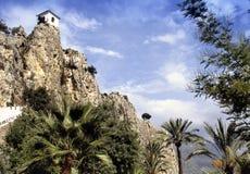 Viewpont en Cap de la Nau en España imagen de archivo