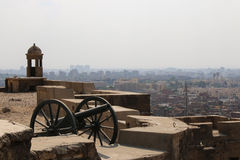 Views across Cairo from the Citadel. Cairo. Egipt. Royalty Free Stock Image