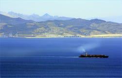 Views of Afrique from Algeciras, Cádiz Royalty Free Stock Image