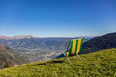 Views of the Alps royalty free stock photos