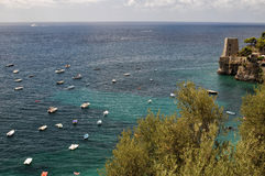 Views of the Amalfi Coast Royalty Free Stock Photography