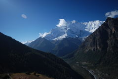 Views from Annapurna, Nepal Royalty Free Stock Photo