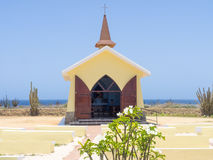 Views around Alto Vista Chapel. Views around Aruba a small caribbean Island in the Netherland Antilles Stock Image