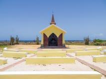 Views around Alto Vista Chapel. Views around Aruba a small caribbean Island in the Netherland Antilles Stock Images
