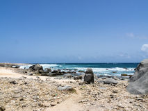 Views around Aruba coastline Royalty Free Stock Photography