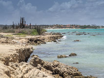 Views around Aruba coastline Royalty Free Stock Image