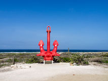 Views around Aruba Sero Colorado Royalty Free Stock Image