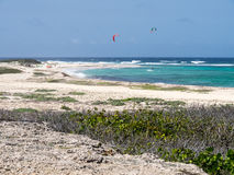 Views around Aruba a small caribbean Island in the Netherland An Stock Photos