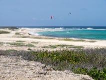 Views around Aruba a small caribbean Island in the Netherland An. Tilles Stock Photos
