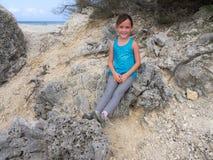 Views around Boca Sami - child Stock Images
