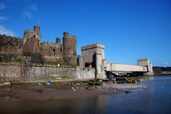 Views around Conwy Royalty Free Stock Photography